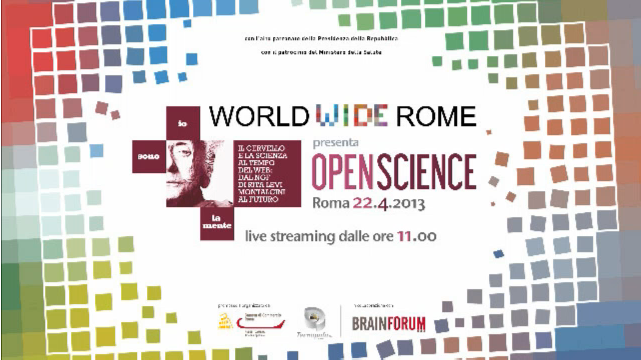 World Wide Rome - Open Science - Io sono la mente